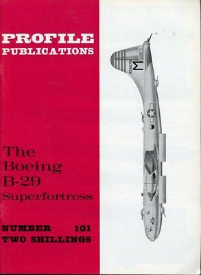 Profile Publications The Boeing B-29 Superfortress #101 for sale  Wentzville