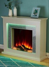 Sparkle Electric Fire Suite new