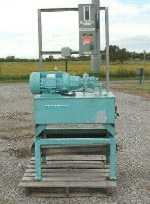 Racine 40 Gallon Hydraulic Power Unit Bosch Pump 10hp Psv Psbf 10hrm 62 3 Phase