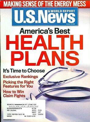 2005 U S  News   World Report Magazine  Americas Best Health Plans Energy Mess