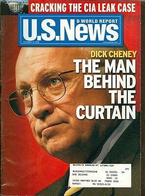 2003 U S  News   World Report Magazine  Dick Cheney The Man Behind The Curtain