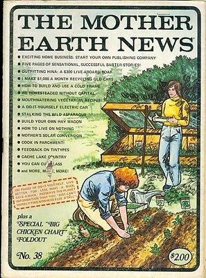 1976 Mother Earth News Magazine  38  Home Business Barter Stories Boat House