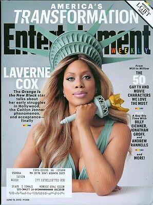 2015 Entertainment Weekly  Laverne Cox Transgender Caitlyn Jenner Lgbt Pride