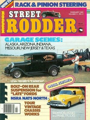 1982 Street Rodder Magazine: Lynn Moore's Express/Rack & Pinion Steering/Chassis for sale  Shipping to India