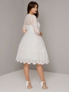 Brand New Chi Chi London (ModCloth) Wedding Dress - Plus Size