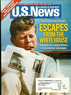 2005 U S  News   World Report Magazine  Jfk Escapes From The White House