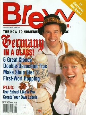 2001 Brew Your Own (Beer) Magazine: 11 German Recipes/Use Extract Like a Pro ()