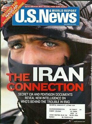 2004 U S  News   World Report Magazine  The Iran Connection New Intelligence