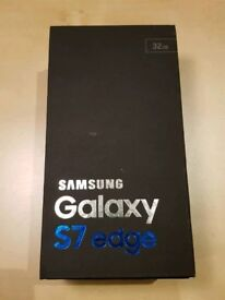 Samsung Galaxy S7 edge Black SM-G935F - unlocked, as new
