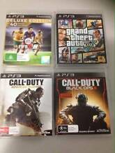 PS3 games for sale - prices for each below - will sell seperate Lalor Whittlesea Area Preview