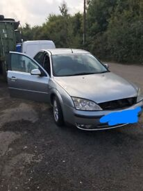 Ford Mondeo Breaking For Spares/parts
