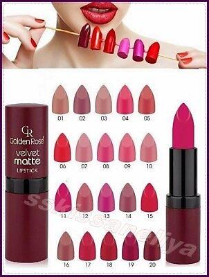 Golden Rose Velvet Matte Lipstick Soft with Vitamin E,Best Price Sexy