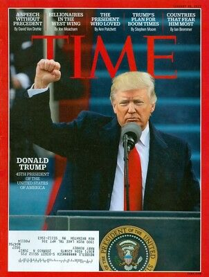 2017 Time Magazine: Donald Trump Inauguration Issue