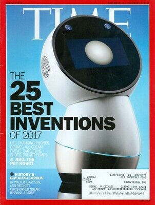 2017 Time Magazine: The 25 Best Inventions/History's Greatest