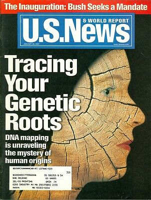 2001 U S  News   World Report Magazine  Tracing Your Genetic Roots   Dna Mapping