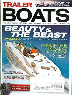 2010 Trailer Boats Magazine: Rinker 246/Marine Batteries/Custom Top/Yamaha 300