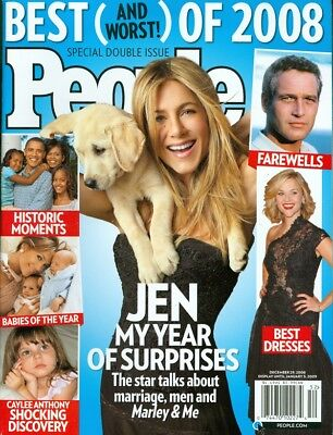 2008 People Magazine: Best of Issue/Jennifer Aniston/Paul Newman/Barack