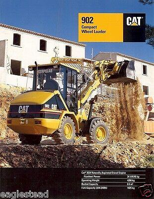 Equipment Brochure - Caterpillar - 902 - Compact Wheel Loader- 1998 Eb169