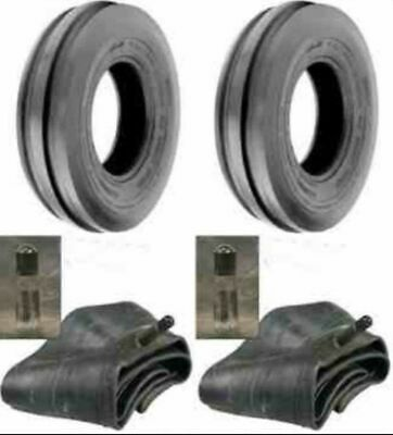 Two 400x8 4.00-8 Front 3 Rib Garden Cub Cadet Front Tractor Tires Wtubes