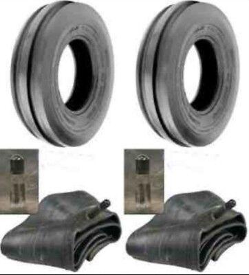 2 New 6.00-16 600x16 6.00x16 Rib Imp Discwagon Farm Tractor Tires Wtubes