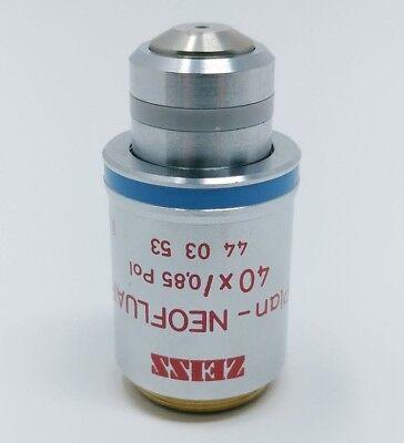 Zeiss Microscope Objective Plan Neofluar 40x0.85 Pol