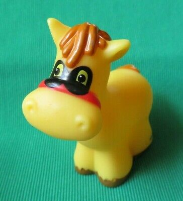 Fisher Price Little People Halloween Pumpkin Party HORSE w MASK farm animal 2010