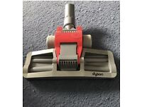 Dyson DC08 vaccum floor head, red,silver & purple