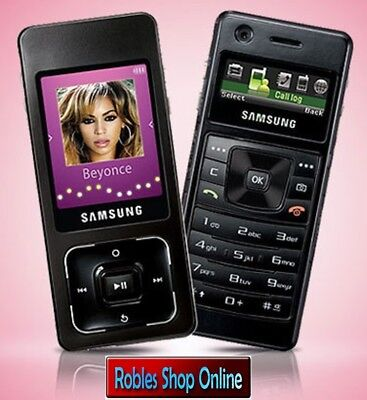 Samsung SGH-F300 Ultra Music Black (Ohne Simlock) 3Band Radio FM 2MP MP3 TOP OVP ()