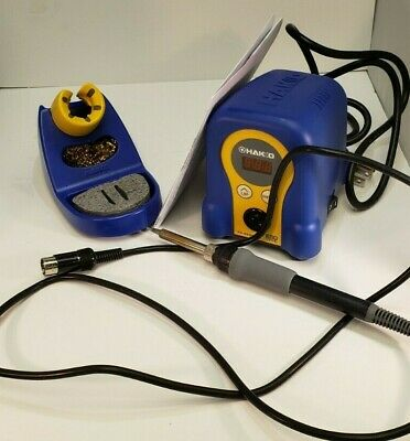 Hakko Fx888d-23by Digital Soldering Station 70w120vac Lightly Used