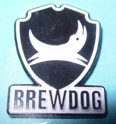 Brewdog Brew Dog Shield Logo Lapel Pin Badge Button Craft Brewery Brewing