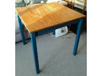 Solid Pine upcycled Painted Table