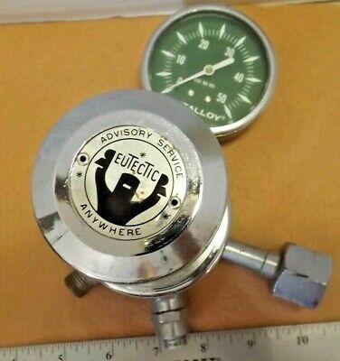 Eutalloy Welding Tank Regulator By The Eutectic Welding Alloys Corp. Untested