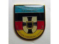 Bundesmarine Marine Anstecker Schnellbootflottille Verbandsabzeichen mit Pin