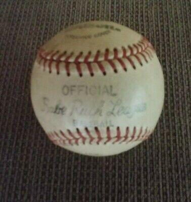 Vintage Babe Ruth League Wilson Horsehide Cover Official Baseball  Babe Ruth Official Baseball