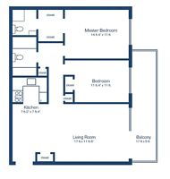 Great Two Bedroom - Two Full Bath for November- Rockcliffe Park
