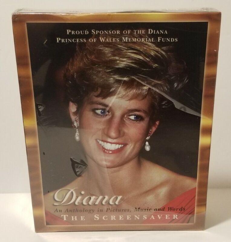 DIANA Princess of Wales The Screensaver Anthology 1997 WINDOWS 95 HeadGames NEW
