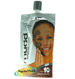 Mudd-Mud-Face-Mask-Deep-Cleansing-ORIGINAL-Clay-Pack-10-Applications-100ml