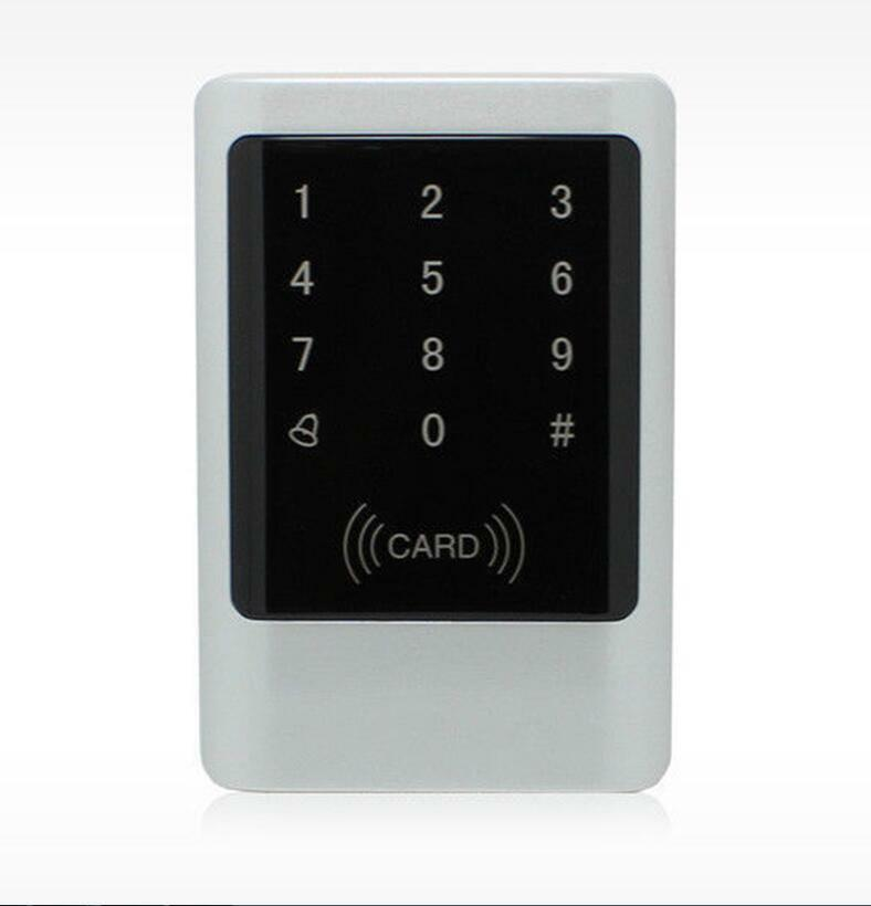 Waterproof Metal 125K EM ID Card Access Control Machine With Keypad Touch