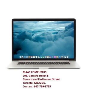 "Macbook Pro Retina  13 "" [2014] ; Core i5; 2.6GHz; ; 128 GB ; 8 GB ; Comes wth pre installed  softwares"