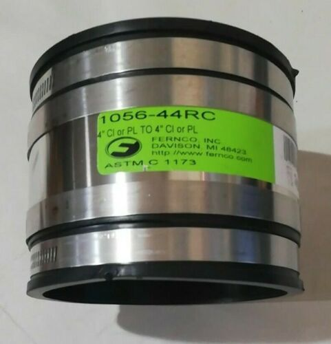 """FERNCO 4"""" CL or PL To 4"""" CL or PL ~ 1056-44RC"""