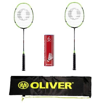 Oliver Badmintonset Fetter Smash   Federballset