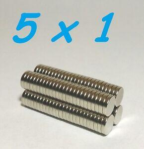 100-MAGNETI-NEODIMIO-5X1-MM-CALAMITA-POTENTE-FIMO-CERAMICA-MAGNETE-CALAMITE