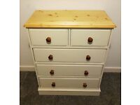 John Lewis solid pine chest of drawers Farmhouse