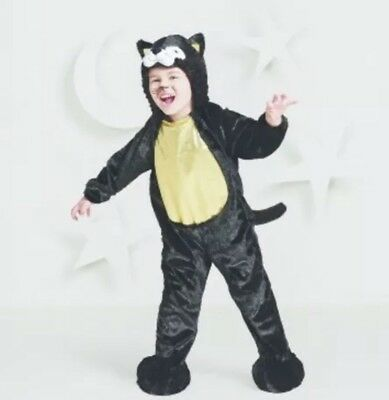 Black Cat Toddler Costume (NWT Hyde & Eek Boutique Toddler Plush Black Cat Halloween Costume Size)