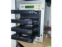 Accard 1 to 3 cd dvd duplicator