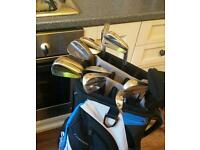 Nike forged irons 3 to pw/bag/putter/balls