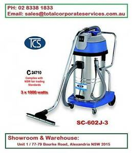 SC-602J-3 60L Wet and Dry Vacuum Cleaner 3000W Ametek Motors Alexandria Inner Sydney Preview