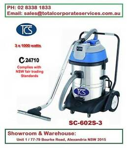 Luxury base 3000w 60L Vacuum Cleaner Wet and Dry Commercial Alexandria Inner Sydney Preview