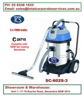 Luxury base 3000w 60L Vacuum Cleaner Wet and Dry Commercial