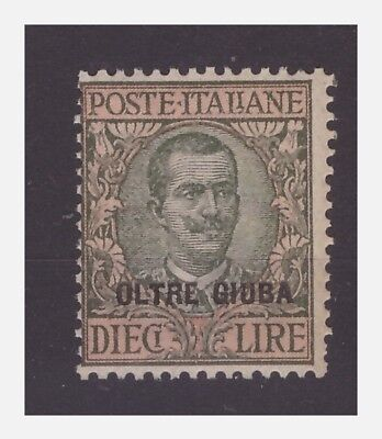 OLTRE GIUBA - 1925   LIRE  10   NUOVO  **
